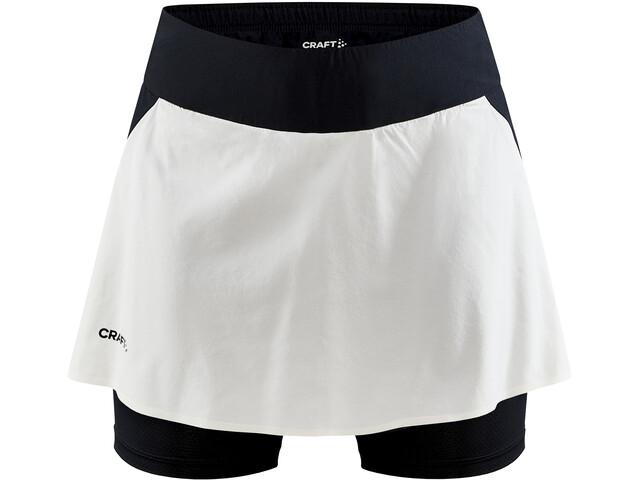 Craft Pro Hypervent 2in1 nederdel Damer, hvid/sort
